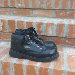 Lugz chukka work boots